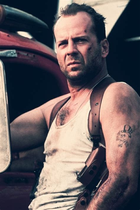 bruce willis tattoos mcclane bruce willis inspiration