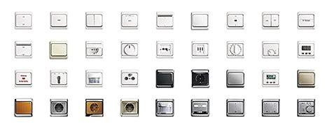 Exklusive Lichtschalter by Schalterprogramme