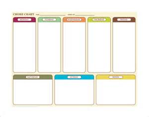 chores calendar template weekly chore chart template 24 free word excel pdf