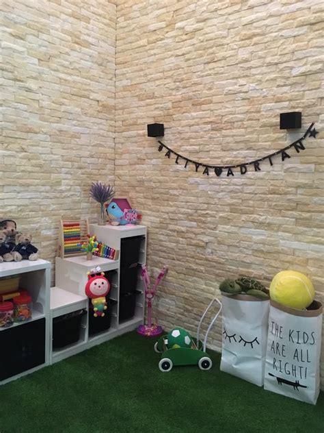 Karpet Hijau Ikea hiasan bilik mainan kanak kanak yang menarik perlu anda