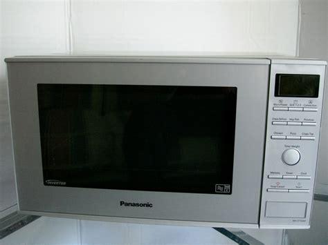 Microwave Panasonic Inverter panasonic inverter silver 27 litre microwave grill convection oven nn cf760m ebay