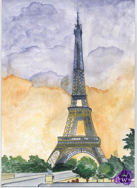 eiffel tower by wolcha on deviantart