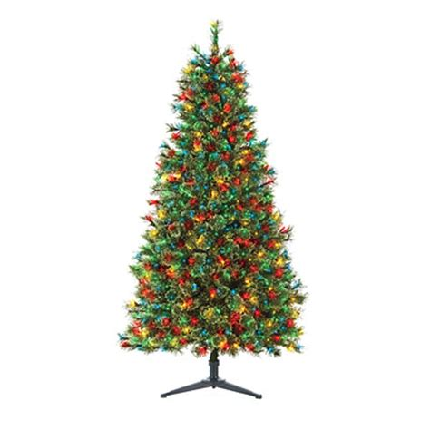 big lotts christmas trees 6 pre lit artificial tree deluxe with multi colored lights big lots