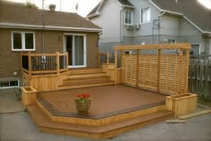 patio plus roof deck