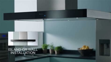 Contemporary Kitchen Island Panasonic Integrated Kitchen Design Cooker Hood The