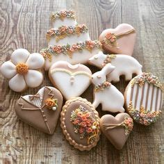 Fiori Chocolate Sugar Box rustic wedding cookies wedding cookies