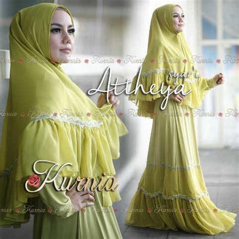 Kenna By Baenetta attheya kuning baju muslim gamis modern