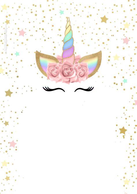 imagenes unicornios gratis convite unicornio gratis jpg 1 410 215 2 000 pixeles fiesta