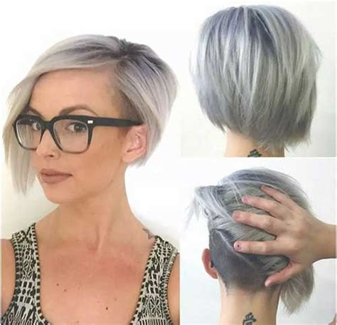 how to blend a lads a hair 14 short hairstyles for gray hair short hairstyles 2016