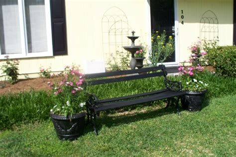 front yard bench bench in front yard yard pinterest