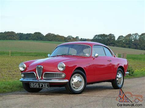 1960 Alfa Romeo by 1960 Alfa Romeo Giulietta Sprint