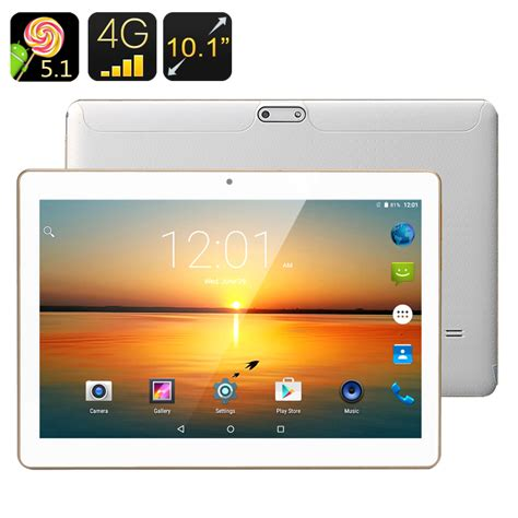 Tablet Android 4g 4g android tablet 10 1 inch ips screen android 5 1 2gb ram 16gb rom bluetooth 4 0 otg
