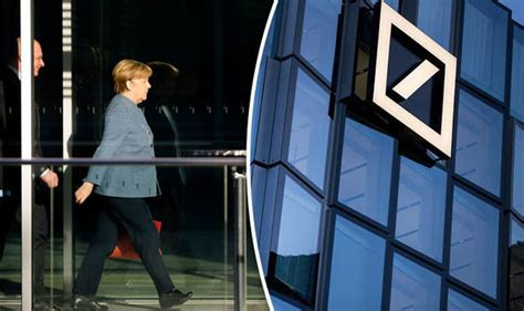 deutsche bank divisions merkel s greatest risk germany s bank rs up