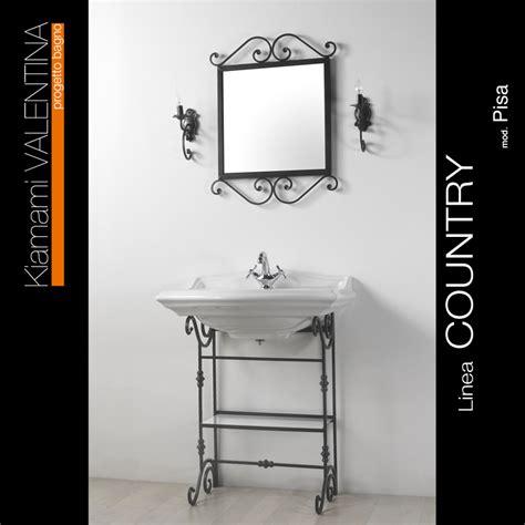 accessori bagno ferro battuto arredo bagno in ferro battuto kv