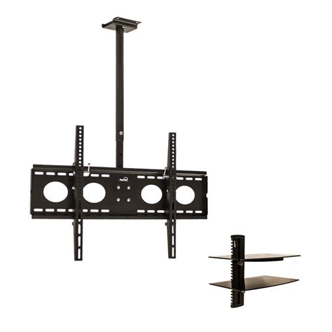 ceiling mount tv bracket 360 tilt swivel led lcd plasma 32