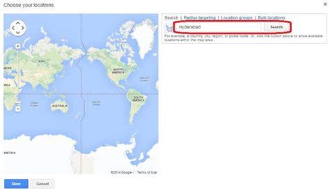 tutorialspoint google map ppc ad on google