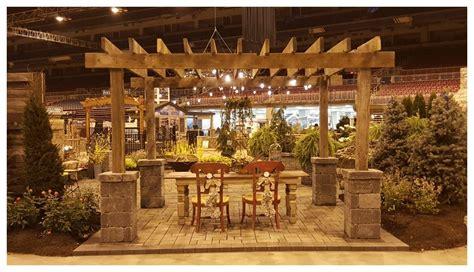 home design expo 2017 home garden show 2017 reclaimed pergola signature landscapes and design