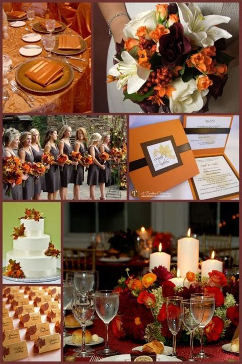 perfect fall wedding color palette ideas  trends