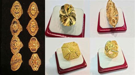 ring designs in gold for gold ring designs for ring collection 2017