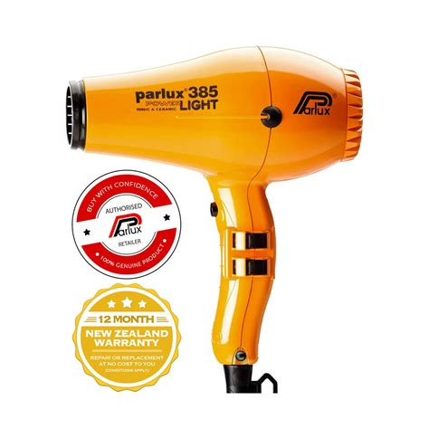 Hair Dryer Company parlux 385 powerlight hair dryer orange the lounge