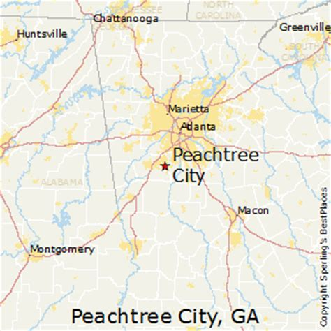 best places to live in peachtree city georgia