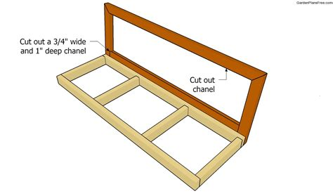bench swing frame plans bench swing plans free garden plans how to build garden projects