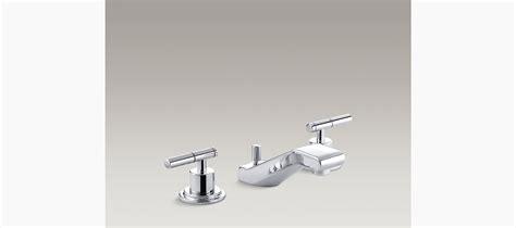 kohler bathroom sink faucets widespread taboret widespread sink faucet with lever handles k 8211