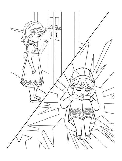 coloriage reine des neiges pour les 2 ans du dessin anim 233