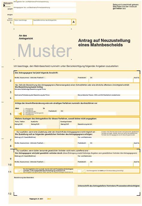 Vorlage Antrag Verwaltungsgericht Mahnbescheid Nrw Salleamanger Originale