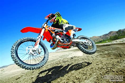 motocross action mxa 250 two stroke shootout husky ktm yamaha