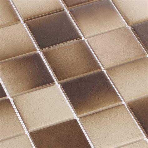hardys fliesen defected brown mosaik fliesen 4 8 x 4 8 cm braun hardys24