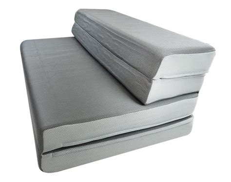 matratze zusammenklappbar foldable foam mattress the cover is removable and can
