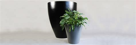 vancouver wholesale planters fiberglass tall planter green theory distributors