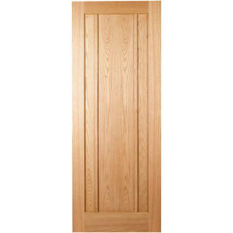 wickes wooden front doors wickes york oak veneer door 3 panel 1981x762mm ebay