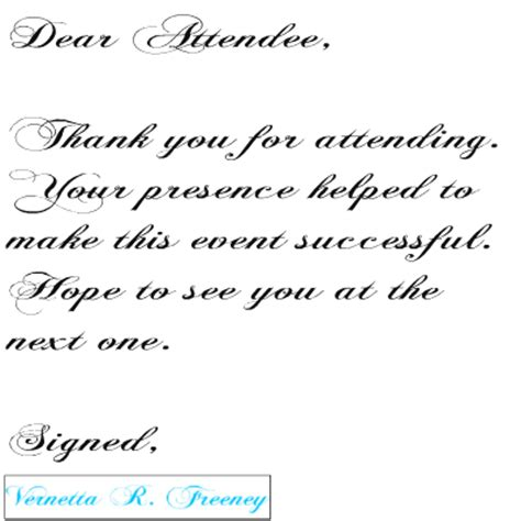 Thank You Letter Networking Event How To Effectively Follow Up After Your National Tour By Vrfreeney She Owns It