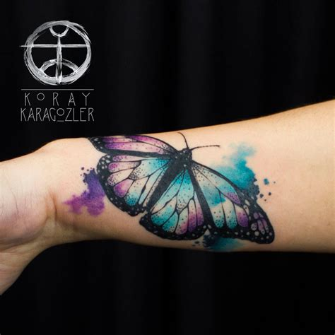 abstract butterfly tattoo designs watercolor abstract butterfly by koraykaragozler on deviantart
