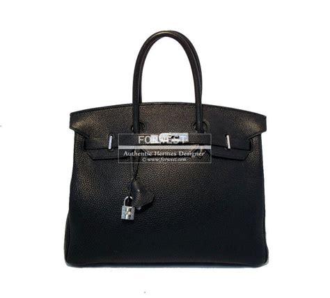 authentic hermes 35cm black togo birkin bag 15999 0000