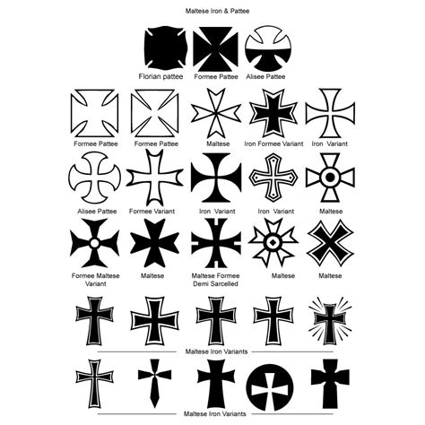 cross symbol tattoos maltese cross iron crosses pictures pics images and