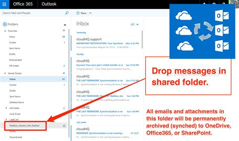 Office 365 Mail Enabled Folder Teams Are Comfortable With Email But Not Onedrive Or