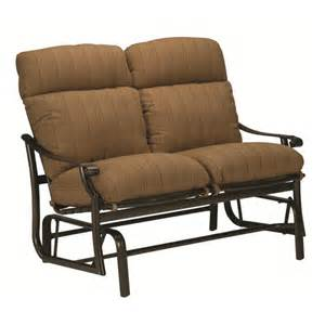 Glider Patio Furniture by Double Glider Outdoor Furniture Wayfair