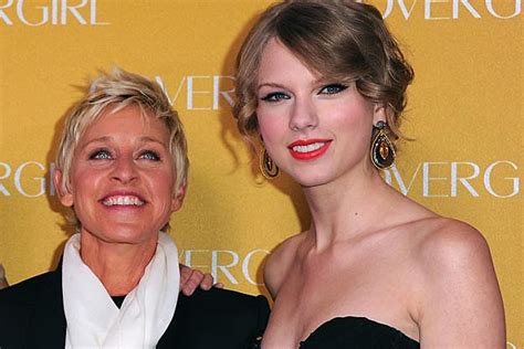 justin bieber ellen degeneres face swap ellen degeneres makes surprise appearance at taylor swift