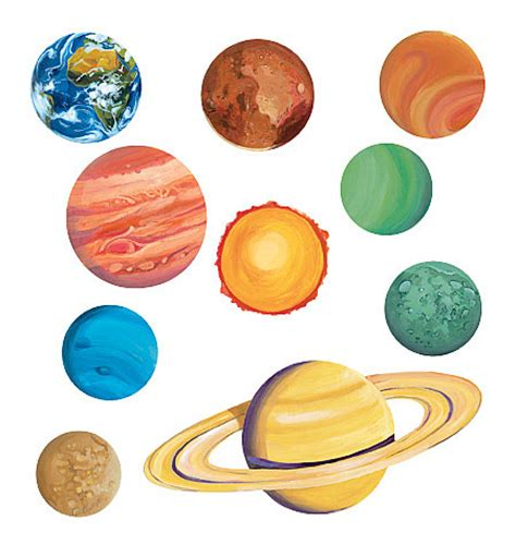 Galerry printable planets cutouts