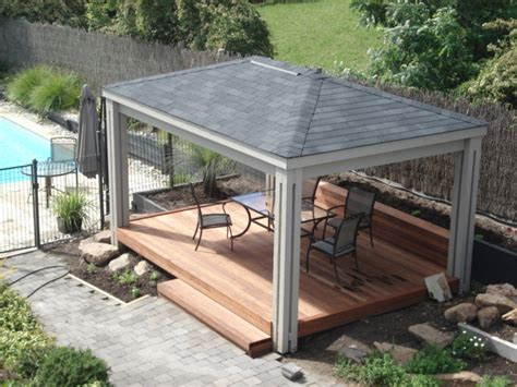 Marvelous Diy Gazebo Kits 4 Pergola With Roof Gazebo Diy Pergola Roof