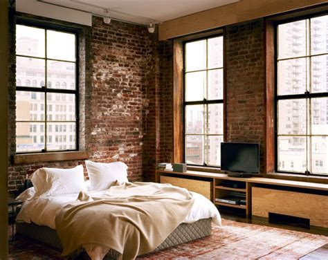 Brick Bedroom | 65 impressive bedrooms with brick walls digsdigs