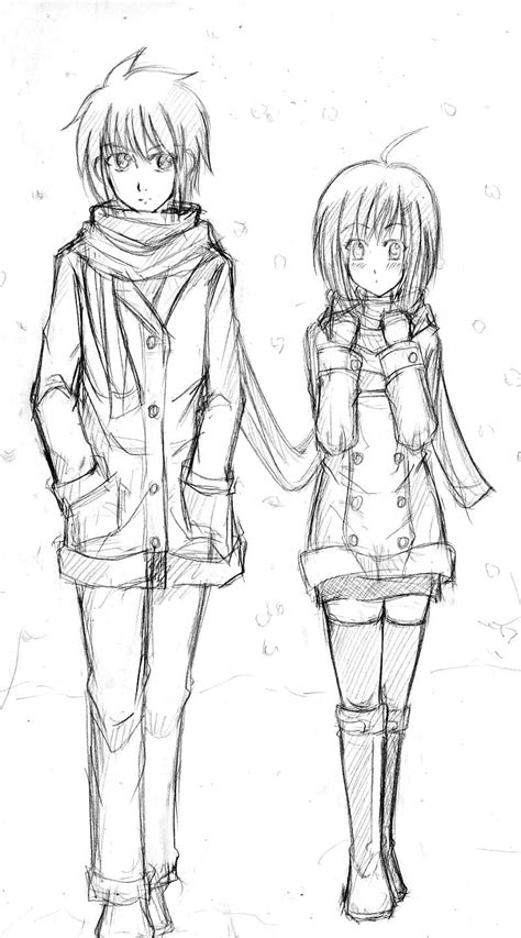 couple sketching by ryuzaku on deviantart