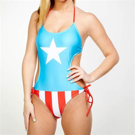 Captain America Blue Swimsuit 42 best images about swimsuits on black ruffle pittsburgh steelers and black boys