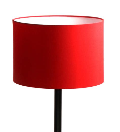red metal floor l buy the light house red cylinder shade metal floor l