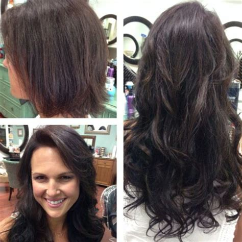 hairstyles for tape in extensions photos hair and before after photo on pinterest