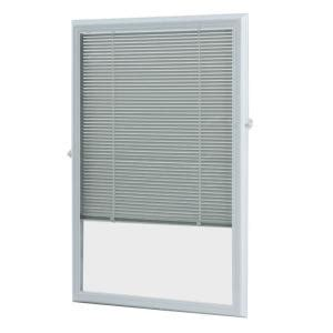 odl 22 in x 36 in add on enclosed aluminum blinds in