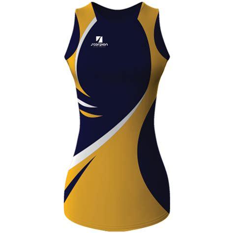 design netball dress scorpion sports bespoke uk netball dresses produced in any